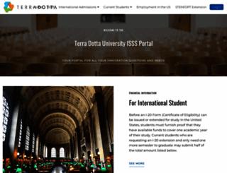 isss.terradotta.com screenshot