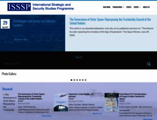 isssp.in screenshot