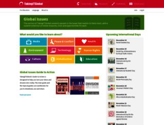 issues.tigweb.org screenshot