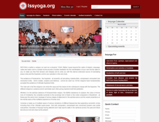 issyoga.org screenshot