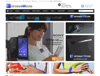 istanahp.com screenshot