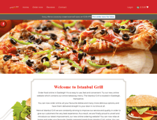 istanbul-grill.com screenshot