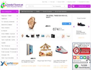 istanbul-ticaret.net screenshot