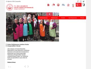 istanbul.aile.gov.tr screenshot