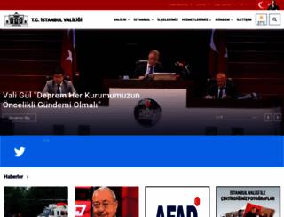istanbul.gov.tr screenshot