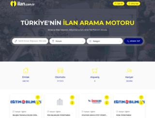 istanbul.ilan.com.tr screenshot