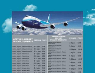 istanbulcityairport.com screenshot