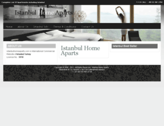 istanbulhomeaparts.com screenshot