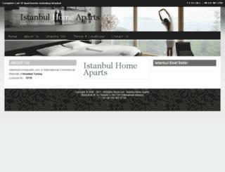 istanbulhomeaparts.com screenshot