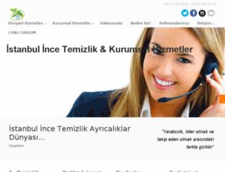 istanbulincetemizlik.com screenshot