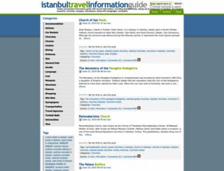 istanbulinformations.com screenshot