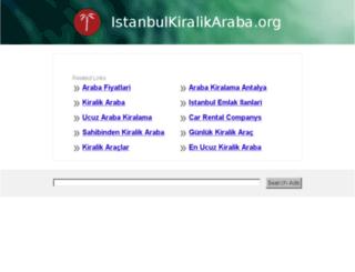istanbulkiralikaraba.org screenshot
