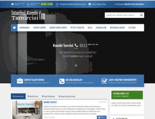 istanbulkombitamircisi.com screenshot