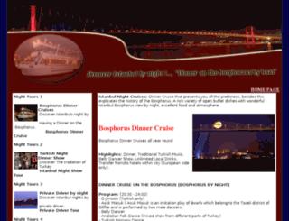istanbulnightcruises.com screenshot