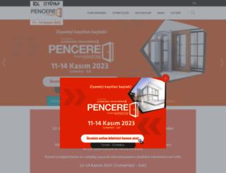 istanbulpencerefuari.com screenshot