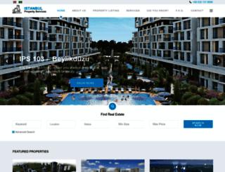 istanbulpropertyservices.com screenshot