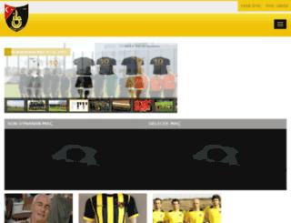 istanbulspor.testsitesi.net screenshot