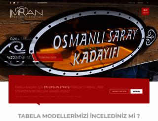 istanbultabela.org screenshot