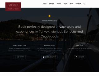 istanbultourstudio.com screenshot