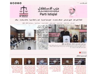 istiqlal.info screenshot
