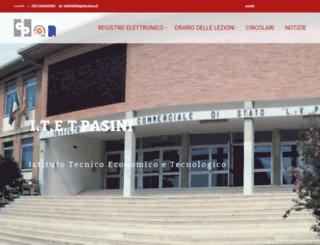 istitutopasini.gov.it screenshot
