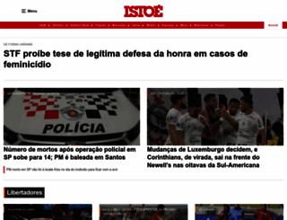 istoe.com.br screenshot