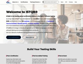 istqb.org screenshot