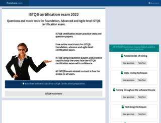 istqb.patshala.com screenshot