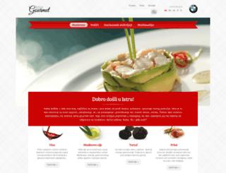 istria-gourmet.com screenshot