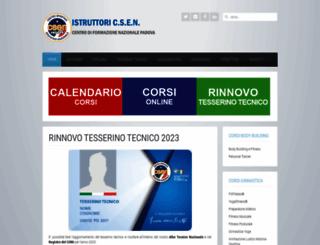 istruttorinazionali.it screenshot