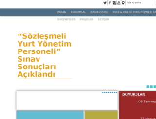 istyurtkur.gov.tr screenshot