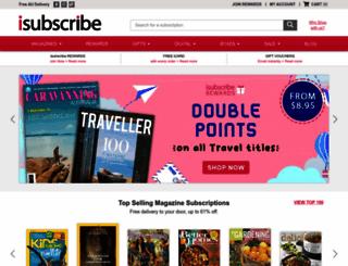 isubscribe.com.au screenshot