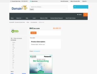 isvcon.com screenshot