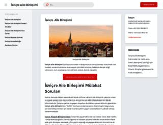 isvicreailebirlesimi.com screenshot