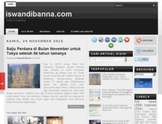 iswandibanna.com screenshot