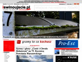 iswinoujscie.pl screenshot