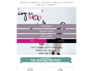 isybshoes.com screenshot