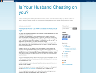 isyourhusbandcheatingonyou.blogspot.com screenshot
