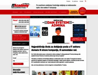 it-akademija.com screenshot