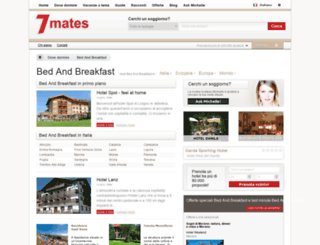 it-bed-and-breakfast.7mates.com screenshot