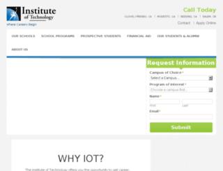 it-colleges.edu screenshot
