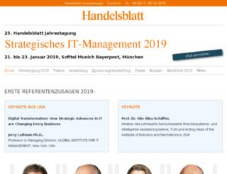 it-jahrestagung.de screenshot