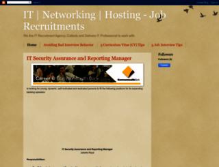 it-recruitement.blogspot.com screenshot