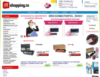 it-shopping.ro screenshot