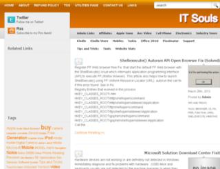 it-souls.com screenshot