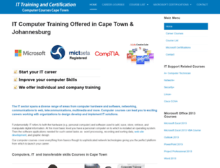 it-training-capetown.co.za screenshot