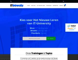 it-university.nl screenshot