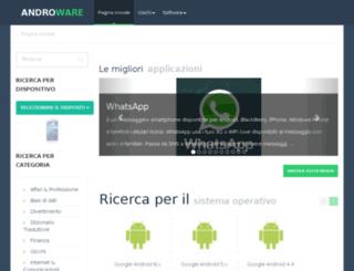 it.androware.net screenshot