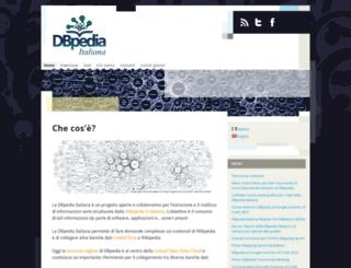 it.dbpedia.org screenshot