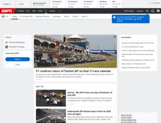 it.f1-live.com screenshot